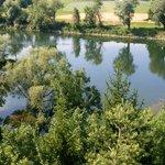 """Die """"Aussicht"""" auf die Donau"""