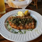 tasty calamari steak - big appetizer