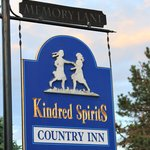 Entry to Kindred Spriits Country Inn.  Cavendish, PEI