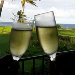 We told the staff it was our Honeymoon so left us a bottle of champagne in our room one night!