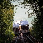 The wonderful Babbacombe Cliff Railway - the easier way to Oddicombe beach which is 5 minutes fr