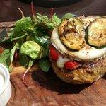 The vegetarian burger