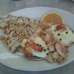 Eggs Benedict with LOBSTER!