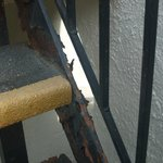 Nice rusty stairs