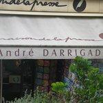 Biarritz, il negozio del velocista Dédé Darrigade