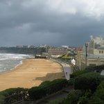Biarritz, la spiaggia ampia e fine