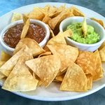 Homemade Chips, Salsa & Guacamole