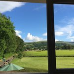 View from room 3 - spectacular !