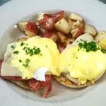 Eggs Benny with Smoked Ham & House made Hollandaise - House Specalty