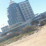 Vista da playa brava