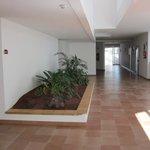 corridor near reception