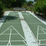 Shuffel board court