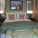 Our plush room