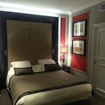 Chambre côté lit