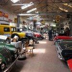 Inside the motor museum
