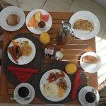 Amazing breakfast every morning