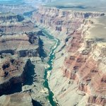 The Colorado river in the Canyon
