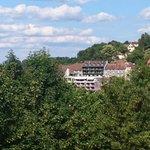 hôtel vu du château