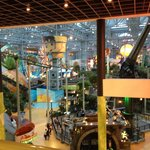 View from the 2nd Floor of the Nickelodeon Universe