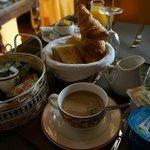 Завтрак - petit dejeuner