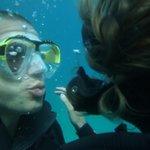 scuba kiss ;-)