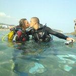 Try dive? Scuba Kiss!