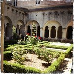 central courtyard, very French