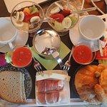 Breakfast on the Terrace! Yum!