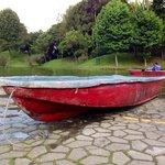 Canoes can be rented at Simon Bolivar Metropolitan Park, fun experience