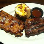 Baby Back Ribs & Loaded Potato