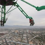 Hanging above Sin City