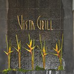The Vista Grill Sign