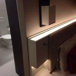 Toilet IN the room with no door!!