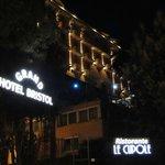 Entrée et façade Hotel (côté mer)