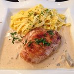 chicken with normandy sauce