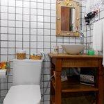 Banheiro do quarto Standard Vip