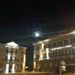Vista da piazza Garibaldi