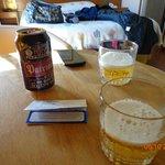 Cervejinha na chegada