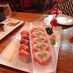 Pink Lady Roll and Honeymoon Roll