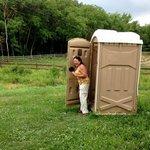 The toilet facility