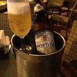 Norteña 960 ml in a bucket of ice!