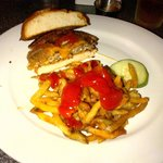 Beef/pork burger