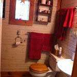 Rainy's bathroom w/shower