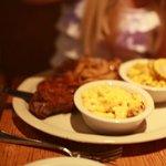 Steak, Mac and Cheese