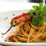 Spaghetti Arrabiatta