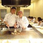 Teppanyaki en el Restaurante Tanoshii