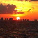 Pôr do Sol em Cancún!