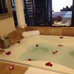 Romantic Jacuzzi Tub