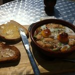 Spanish style breakfast in the sunshine :)