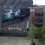 Safeco Field from Silver Cloud Inn Pool Deck
